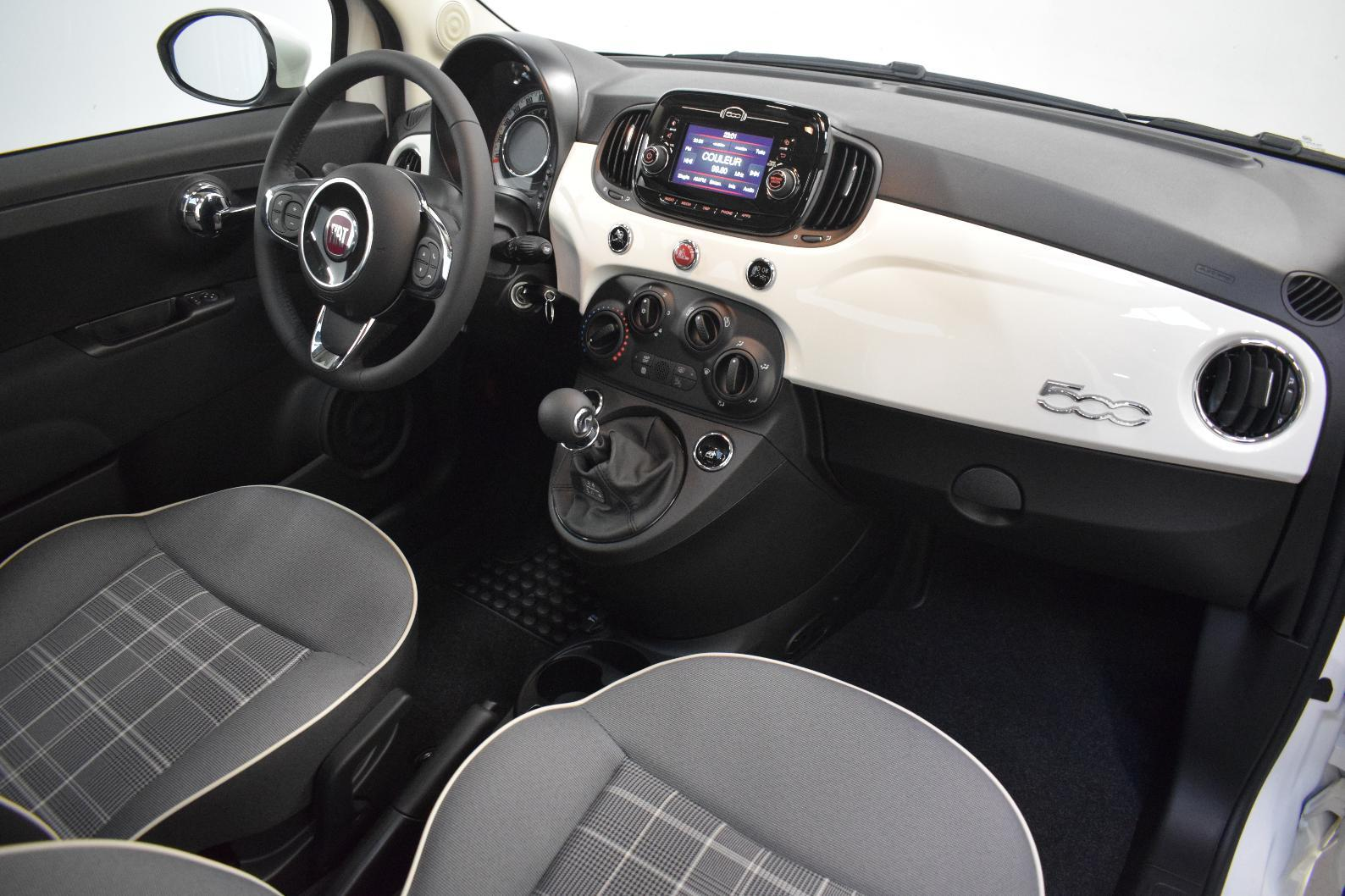 FIAT 500 SERIE 6 EURO 6D 500 1.2 69 ch Eco Pack Lounge