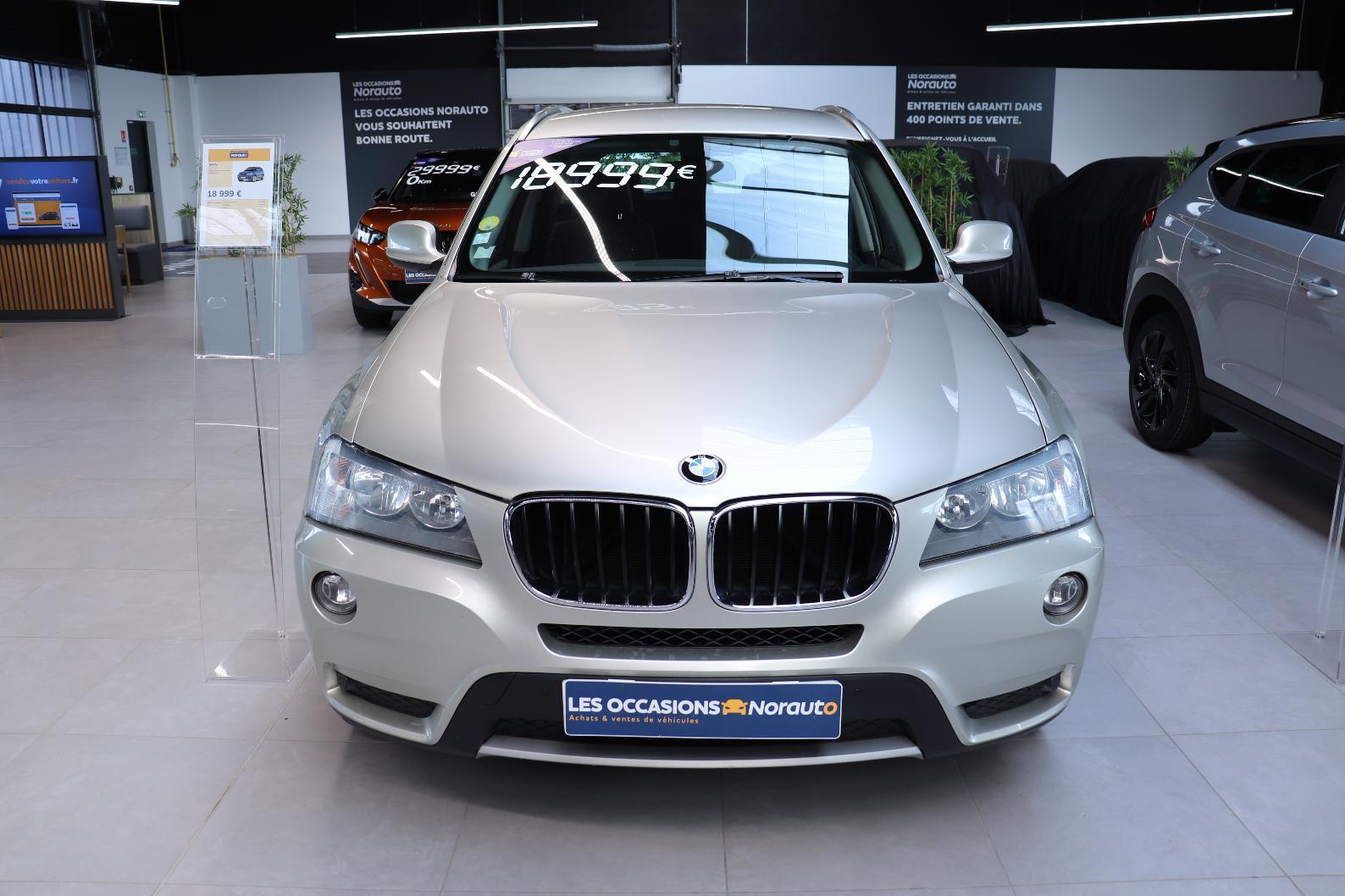 BMW X3 F25 X3 xDrive20d 184ch Excellis Steptronic A