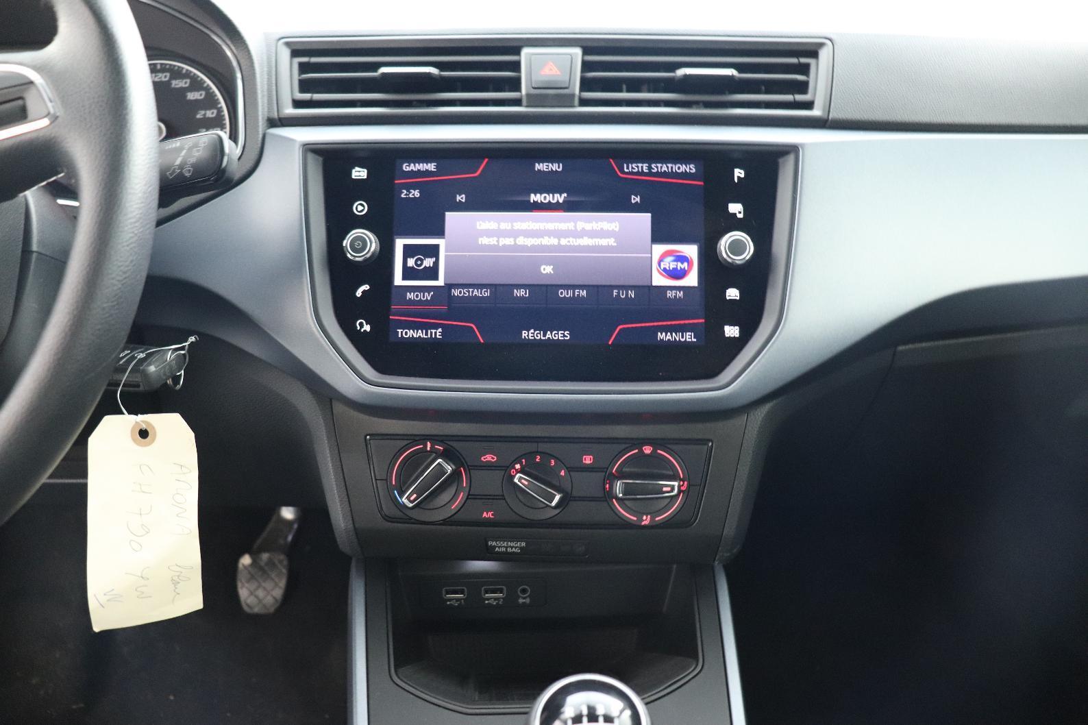 SEAT Arona 1.0 EcoTSI 95 ch Start/Stop BVM5 Xcellence