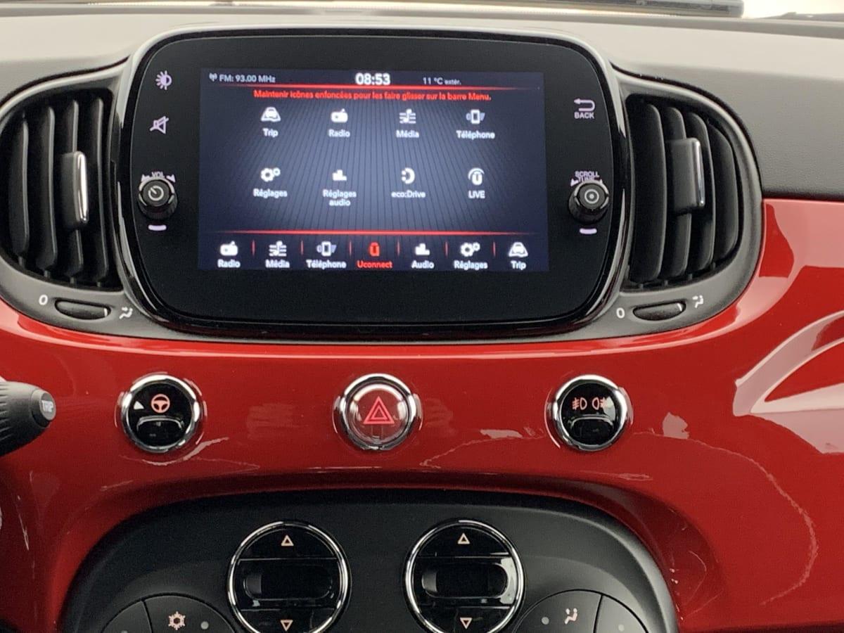 FIAT 500 SERIE 8 EURO 6D-TEMP 1.0 70 CH HYBRIDE BSG S S SPORT