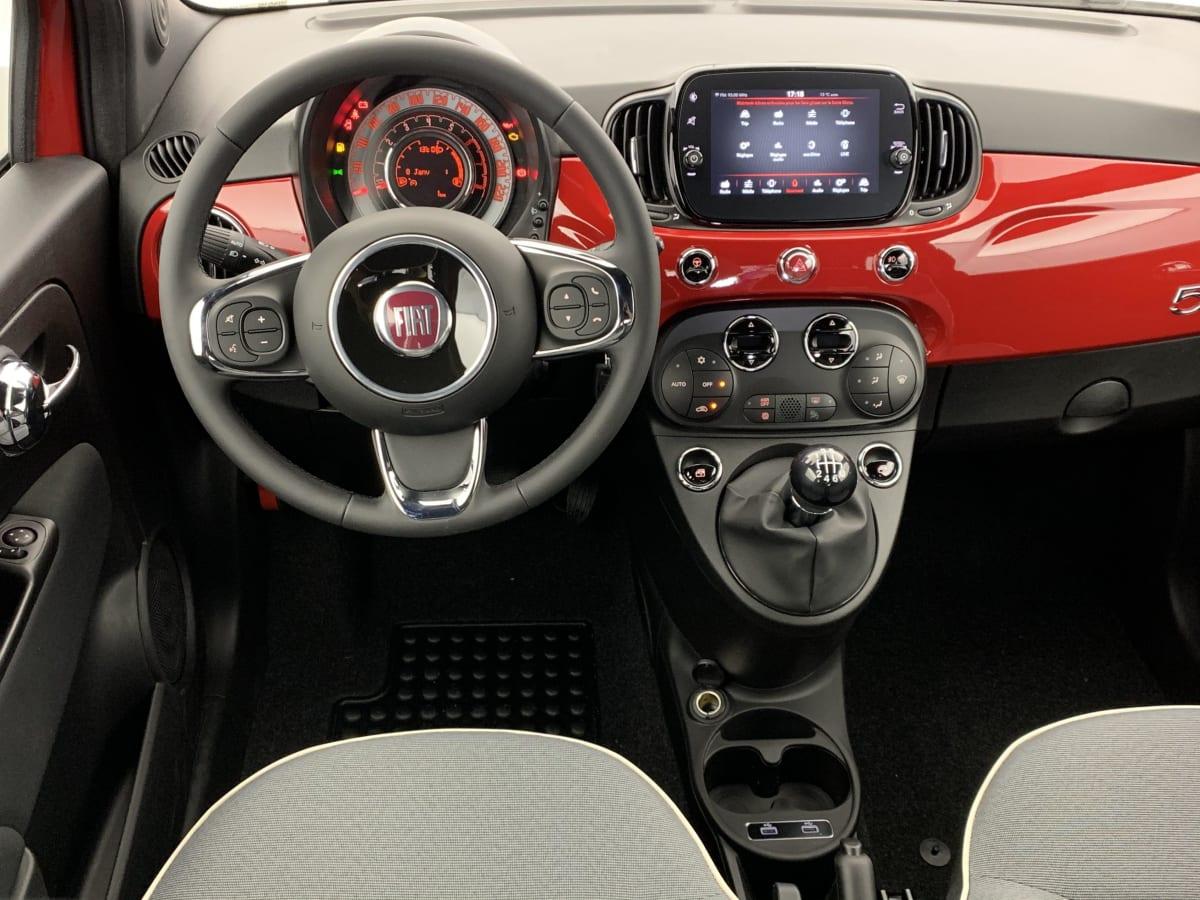 FIAT 500 SERIE 8 EURO 6D-TEMP 1.0 70 CH HYBRIDE BSG S S LOUNGE