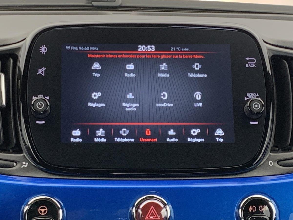FIAT 500C Serie 8 EURO 6d-temp 1.0 70 CH HYBRIDE BSG S S SPORT