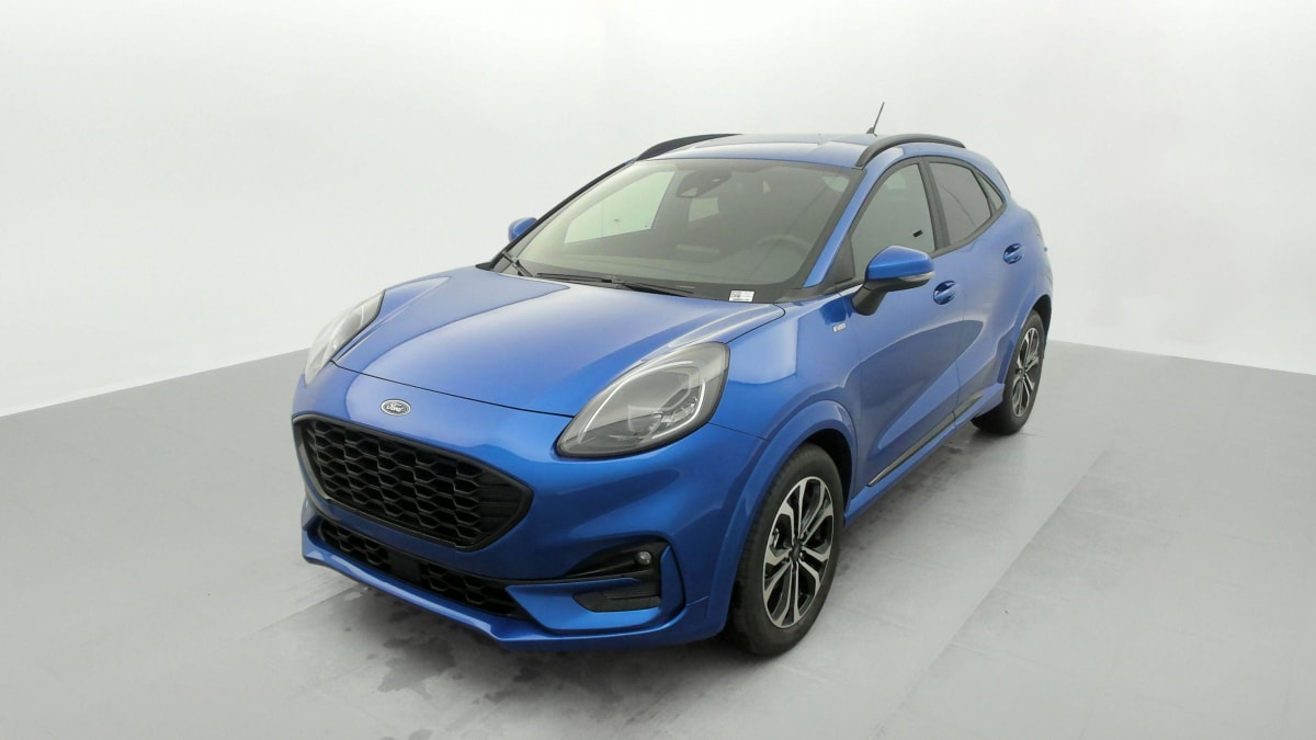 FORD PUMA 1.0 EcoBoost 125 ch mHEV S S BVM6 ST-Line